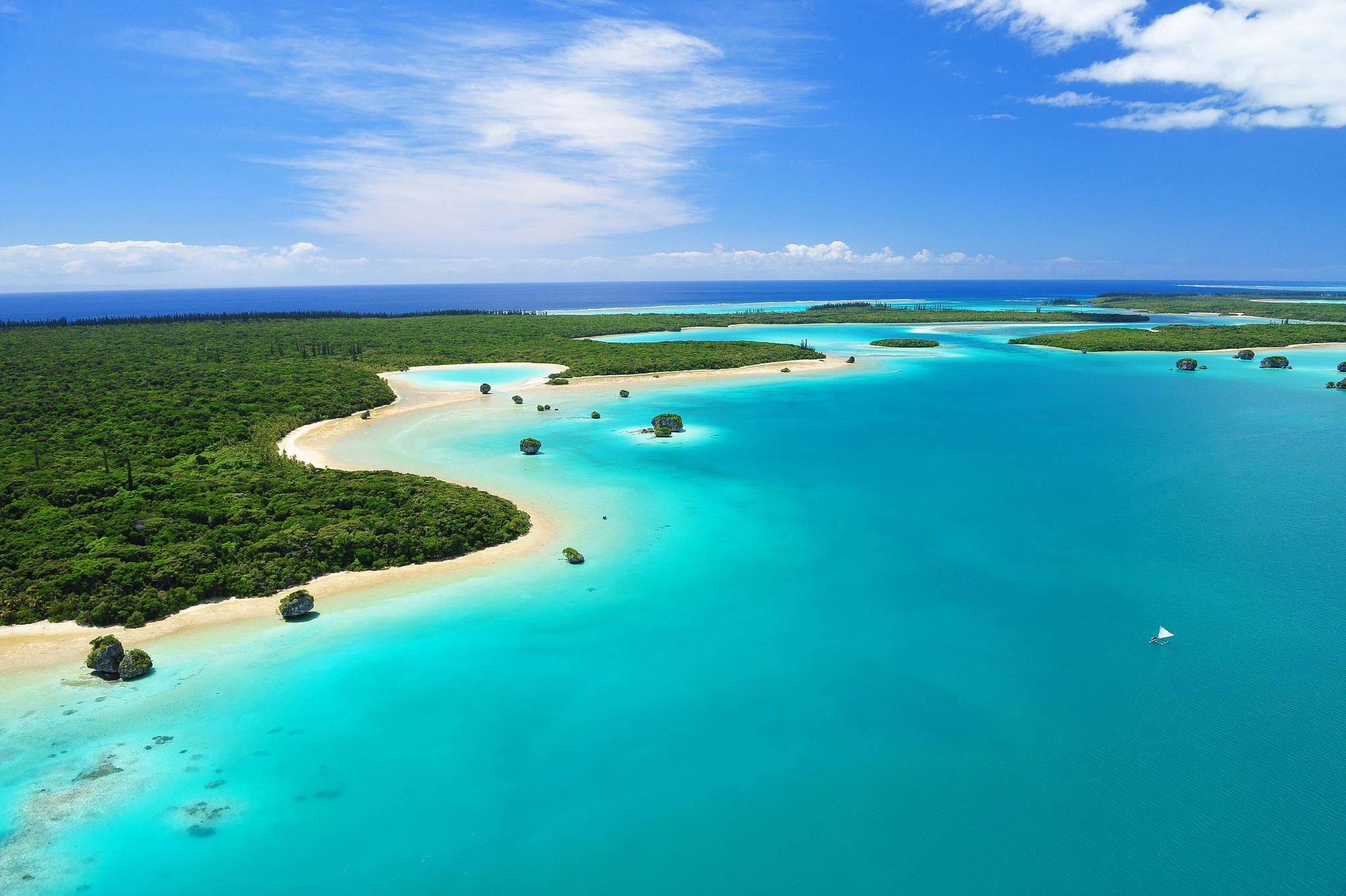 Region to discover: Islands of new caledonia
