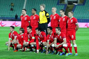 New Caledonia's Football Team